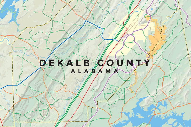 Interactive Map of DeKalb County