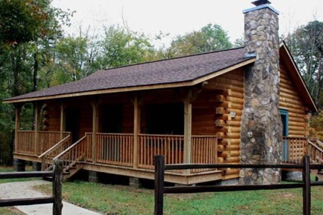 DeSoto State Park Cabins