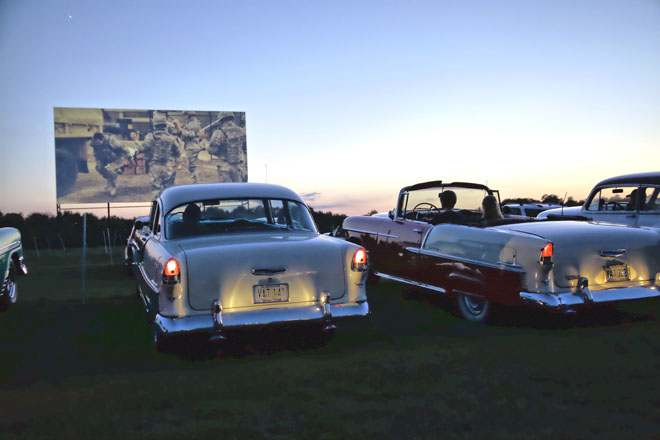 Visit our Drive-In Theatre in honor of National Drive-In Movie Day