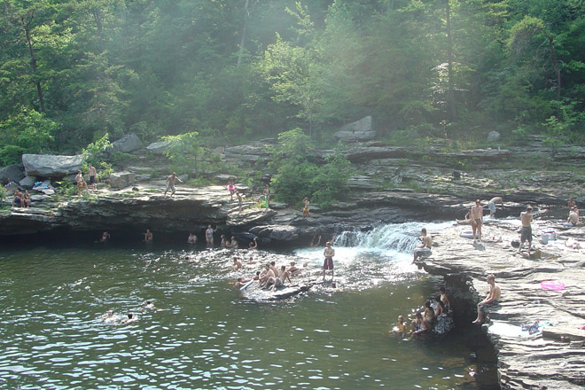 Martha's Falls and the Hippie Hole