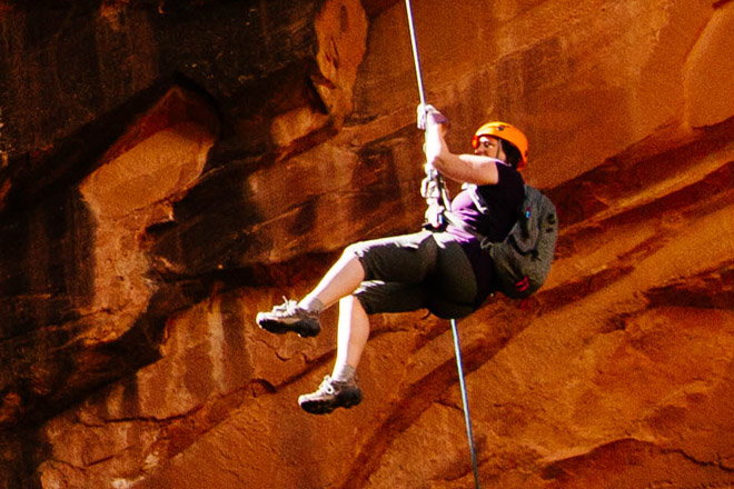 Rappelling Adventure with One World Adventure