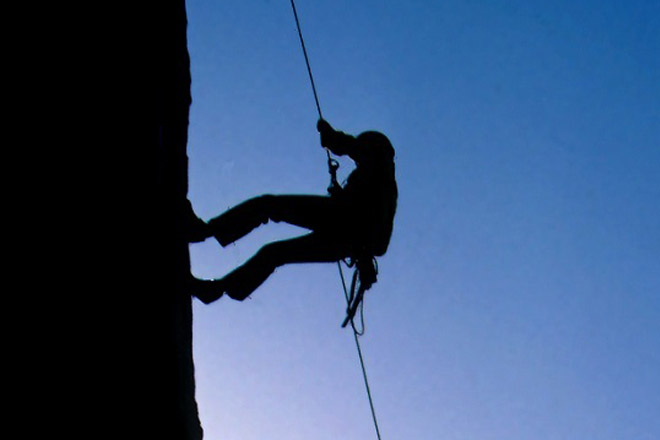 Rock Climbing & Rappelling Adventure
