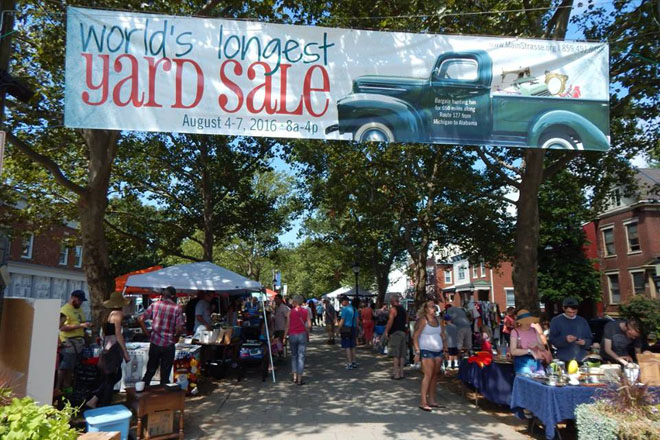 World's Longest Yard Sale - Visit Lookout Mountain Alabama