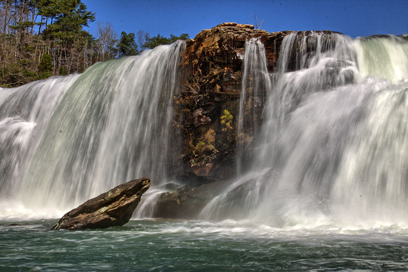 Wash Away Your Spring Fever in Lookout Mountain Alabama Waterfalls