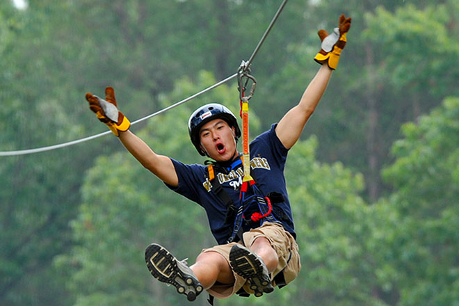 Zip Line Adventure With True Adventure Sports