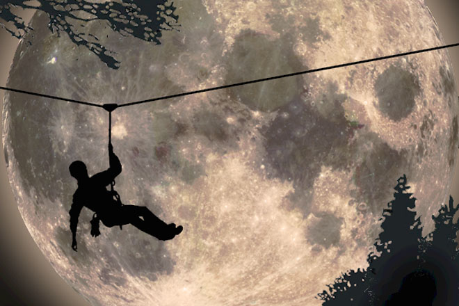 Night Zip Line Adventure With TAS