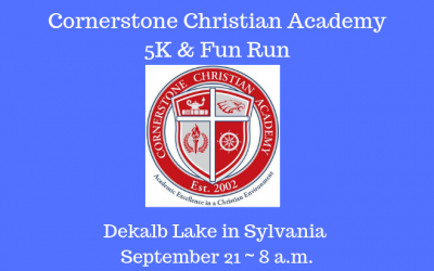 Cornerstone Christian Academy 5K & Fun Run