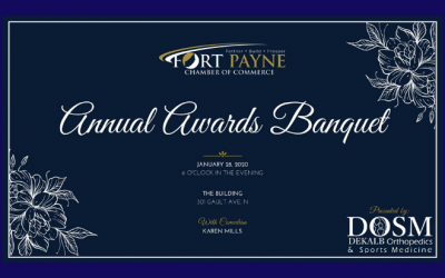 Fort Payne Chamber of Commerce Awards Banquet