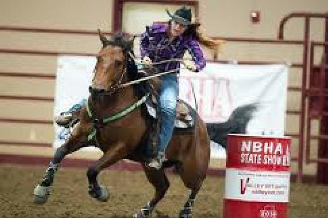 Alabama NBHA 01 Barrel Racing