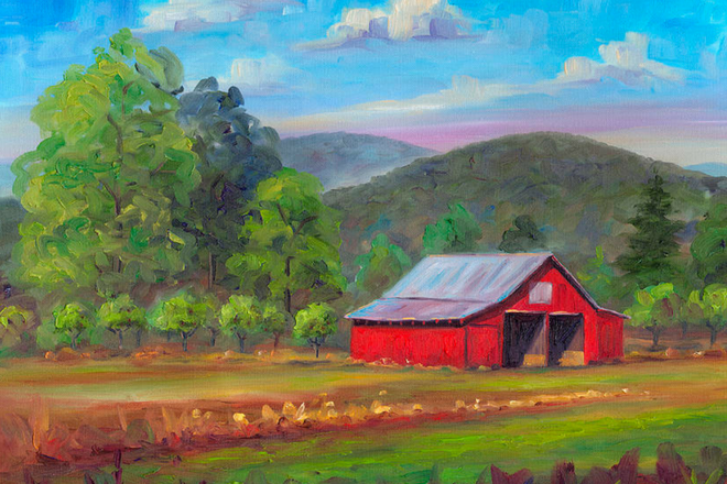 Red Barn Painting Class