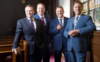 Wilburn/Wilburn & The Lefevre Quartet at The Pickin' Post