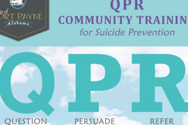 QPR Community Training for Suicide Prevention