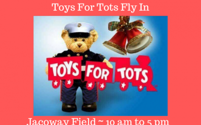 DeKalb RC Flyers Toys For Tots Fly In
