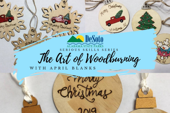 Art of Woodburning with April Blanks