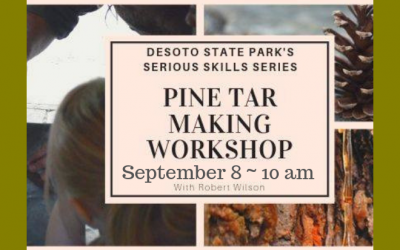 Serious Skills Series: Pine Tar Making Workshop