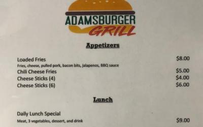 Adamsburger Grill