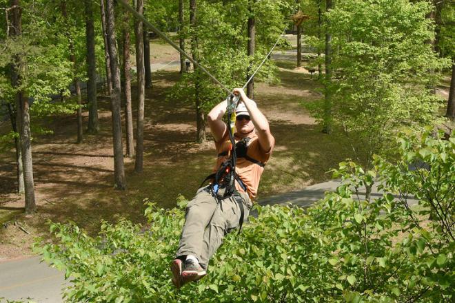 DeSoto Zipline & Aerial Adventure