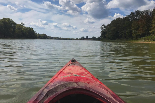 Kayaking Little River
