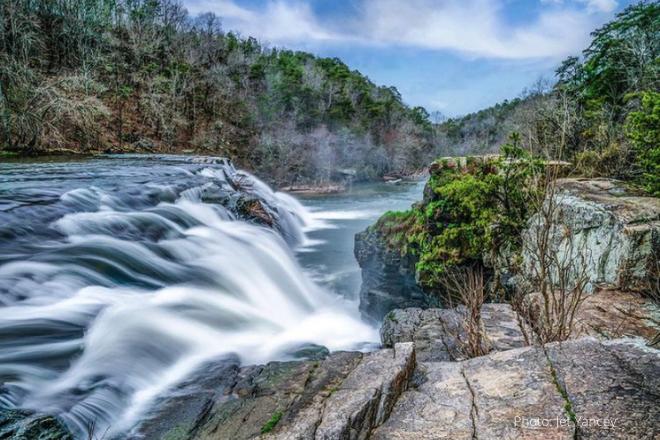 High Falls in Grove Oak, DeKalb County, Alabama