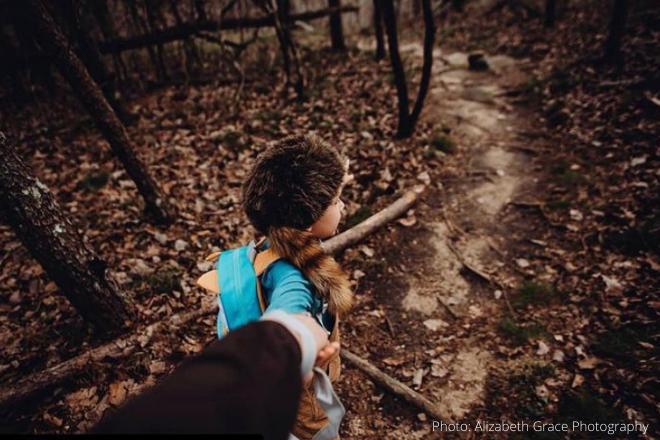 Hiking DeSoto State Park