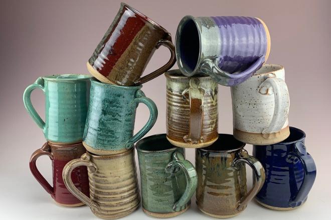 Miracle Pottery mug patterns