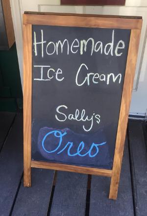 Homemade Ice Cream at Little River Hardware