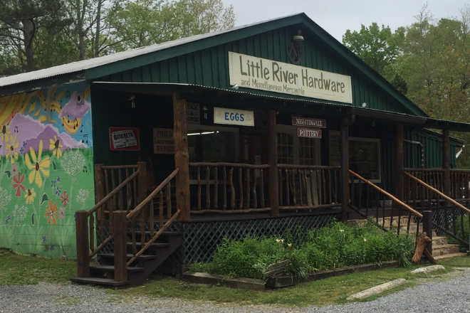 Little River Hardware in Mentone Alabama