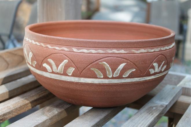 Miracle Pottery Cherokee Gathering Pot