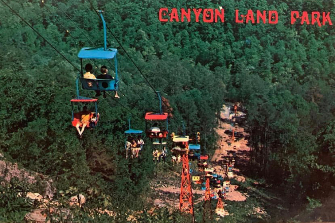 Former Canyonland Park at Little River Canyon
