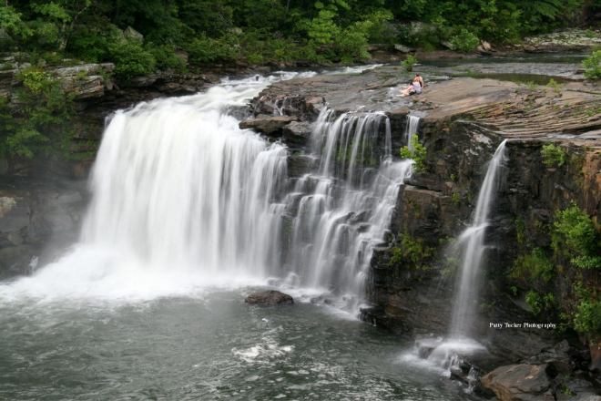 Little River Falls in Little River Canyon National Preserve