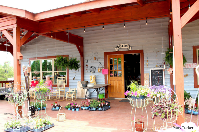 Nena's General Store at the base of Lookout Mountain