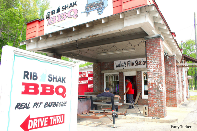Rib Shak BBQ restaurant in Valley Head