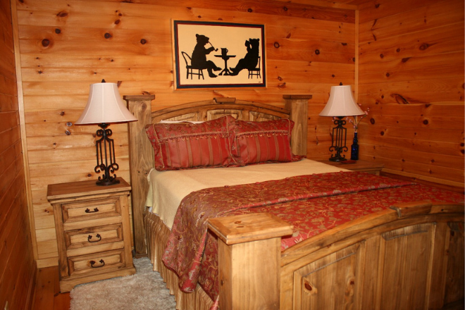 Cabin rentals on Lookout Mountain in Alabama.
